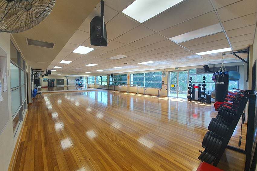 Group exercise studio (North)